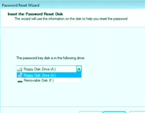 Elimina la contraseña de Windows 7 con USB